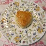 ハーブの香りたっぷりの鯛の入った可愛いパイ