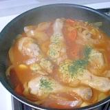 鶏肉のケチャップピリ辛煮