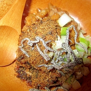 納豆鰹節昆布