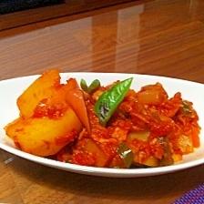ほくほく★ジャガイモとツナのトマト煮