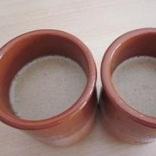 お鍋で紅茶プリン