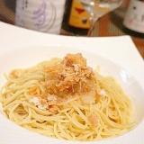 うちバル、鮭缶で簡単あっさり和風パスタ
