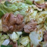 オイスター野菜炒め