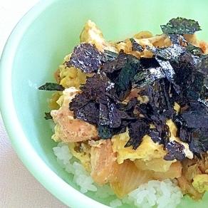 ストウブで親子丼☆甘みは玉ねぎたっぷり〜ゆずの香り