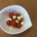 らっきょう酢使用☆ミニトマトとチーズのマリネ