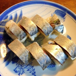 簡単☆鯖寿司(松前寿司)