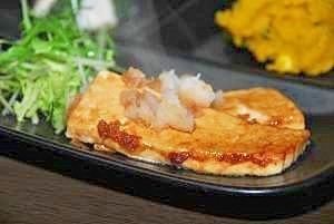 胃に優しい☆豆腐ステーキ
