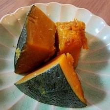 レンジで簡単 かぼちゃの和風煮込み