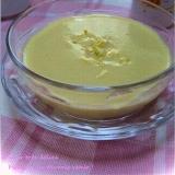 とうもろこしと玉ねぎで冷製コーンポタージュスープ