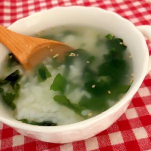 わかめスープのご飯☆