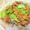 枝豆と納豆の梅和え