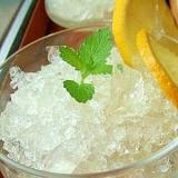グラスで乾杯!クラッシュゼリー&レモンゼリー