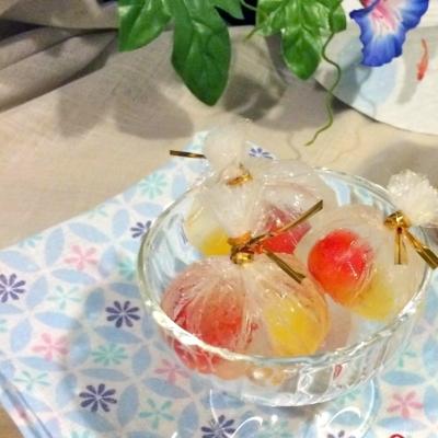 お弁当やお出かけにも!暑い日でも溶けない「フルーツボンボン」は可愛くて便利