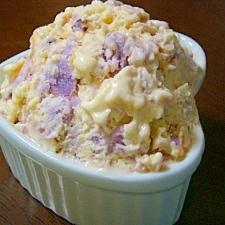 ブルーシールなアイス♪ブルーベリーパーシモン