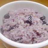 塩黒豆御飯