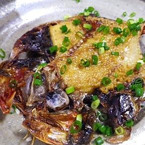 金目鯛のマヨ味噌ゴマ焼き
