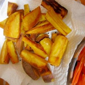 安納芋のフライドポテト 甘くて美味しい