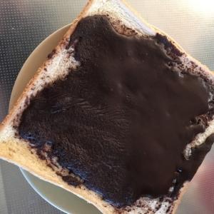 ピュアココアでトースト