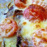 ❤ 茄子&トマト&牛肉のチーズ焼き ❤