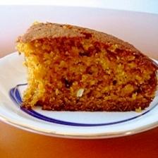 ヘルシーリセッタでふわふわしっとりキャロットケーキ