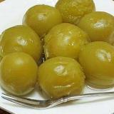 梅の甘露煮 (我が家の味)