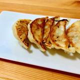 ビールが進む‼️☆焼き餃子with柚子胡椒酢