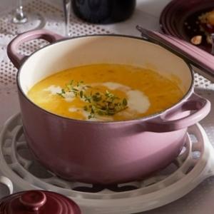 [ル・クルーゼ公式]かぼちゃとりんごのスープ