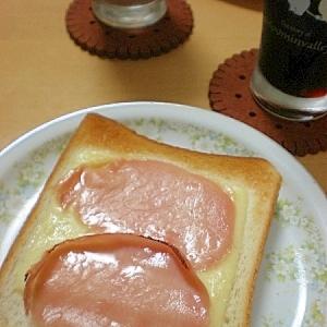 あえて焼く!生ハムチーズトースト
