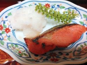 まろやか塩麹の鮭焼き