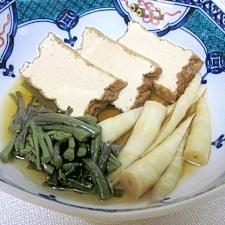 冬の薬膳☆ 繊維がたっぷり「山菜の煮物」