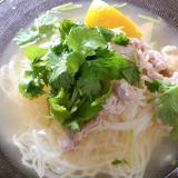 KALDI☆レモン冷麺☆アジアン風パクチーたっぷり