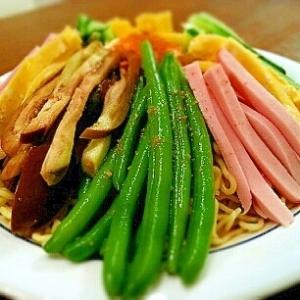 野菜たっぷり♡冷し中華