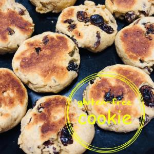 フライパンで作る♡玄米粉クッキー!
