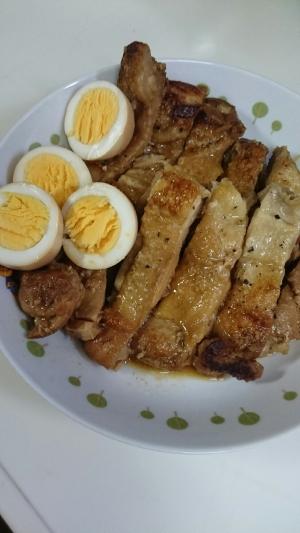 鶏むね肉の甘酢煮込み
