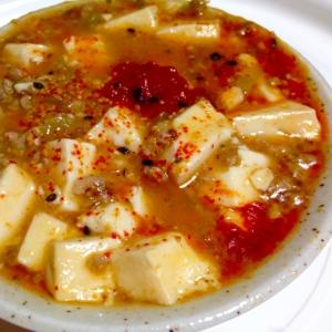 甘口と辛口を1度で作る麻婆豆腐★