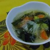 給食風中華スープ