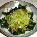 わかめとサラダ菜の和え物