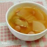 大根のキムチスープ