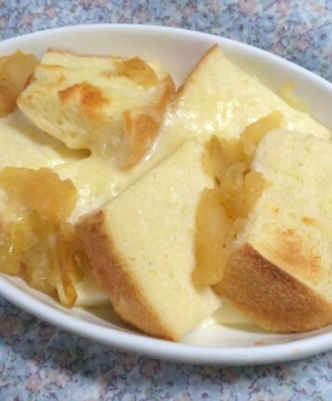 オーブンで☆とろーりチーズフレンチトースト