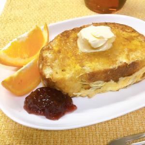 朝の贅沢♪フレンチトースト