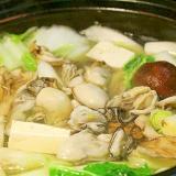 牡蠣のちり鍋