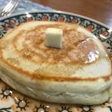 膨らむ♡しっとり♡卵なしH M豆腐豆乳パンケーキ