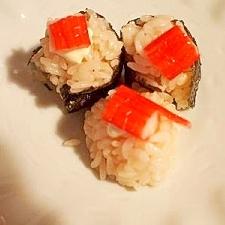 カニマヨの手まり寿司