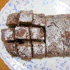 ルクエでHMを使ったガトーチョコラ風ケーキ