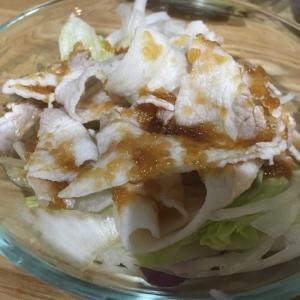 簡単!市販のサラダを使って冷しゃぶサラダ。