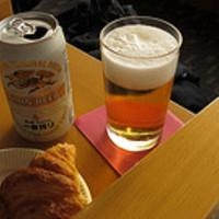 ビールとジンジャーエールでシャンディガフ