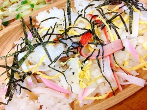 幼児食☆彩ちらし寿司