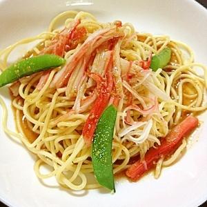 手作りドレッシングでスパゲッティサラダ♪