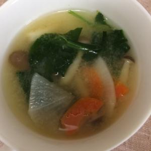 野菜4種の味噌汁