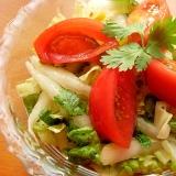 超簡単❤爽やかタイ料理風サラダ♪(調味料は2つ)